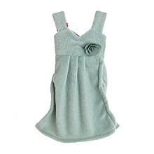Sweet Skirt Hanging Hand Dry Towel Absorbent Coral Fleece Bathroom Kitchen Wiper