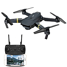 Eachine E58 WIFI FPV With 2MP Wide Angle Camera High Hold Mode Foldable RC Drone Quadcopter RTF-30M pixels Double version