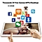 10.1 Inch for Android 7.0 Tablet PC Large Memory WIFI Octa-Core Metal Tablets gold