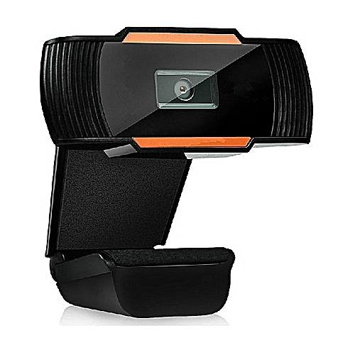 USB Web Cam 12 0MP High Definition Web Camera 360 Degree Rotatable With MIC  Clip-on Webcam
