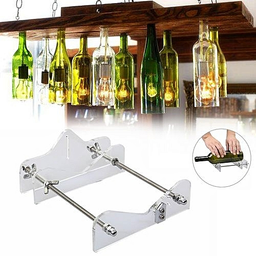 Gl Wine Beer Bottle Cutter Machine Craft Cutting Tool Diy Recycle Kit