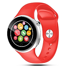 2016 Bluetooth Smart Watch C5 Waterproof WristWatch Sport Pedometer Smartwatch Smartphone Watches  (Color:Red)