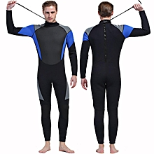 3MM MEN WetSuit Full Body suit Super stretch Diving Suit Swim Surf Snorkeling
