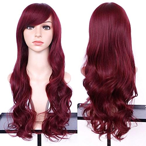 Buy Generic douajso Women s Fashion Wavy Curly Long Hair Full Of ... 20b2db02db