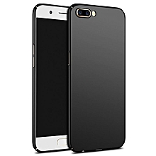Ultra Slim Fit Shell Hard Plastic Full Protective Anti-Scratch Resistant Cover Case for OnePlus 5 (Silky Black)   XXZ-Z