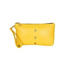 Yellow Cosmetic Bag
