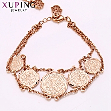 XUPING  fashion Bracelets-Rose Gold