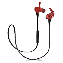X2 Wireless Headphone Mini Sport Gaming Bluetooth Earphones Headphones Fire (Red)