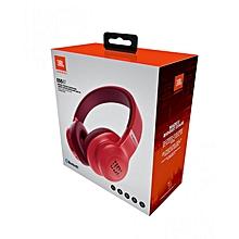 E55 BT - Over-Ear Headphone -Red