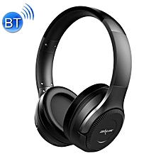 B26T Stereo Wired Wireless Bluetooth 4.0 Subwoofer Headset with 3.5mm Universal Audio Cable Jack & HD Microphone, For Mobile Phones & Tablets & Laptops, Support 32GB TF Card Maximum(Black)