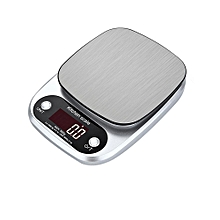 Multifunction Digital Kitchen Scale Precise Cooking Baking Scale 6.6lb/3kg and 22lb/10kg Electronic Food Weighing Scale with Backlit Display,Stainless Steel