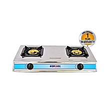 BGC TT2B - 2 BURNER GAS STOVE - Grey