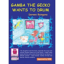 Gamba the Gecko Wants to Drum