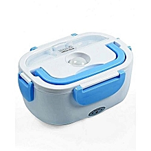 Electric Lunch Box - White & Blue.