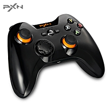 PXN - 9603 Gamepad Wireless Controller Joystick For Android Tablet Mobile Phone TV PC PS3-Black