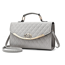 Women handbag -  Grey