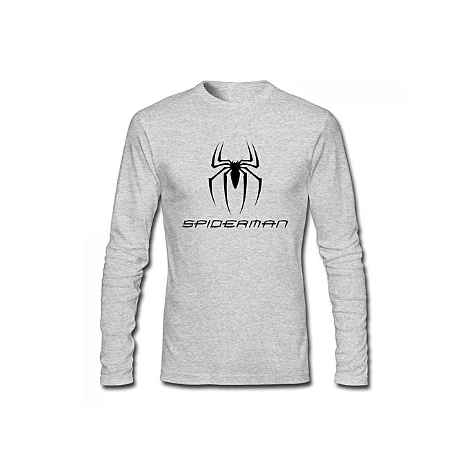 32f1e3567493 ... Shirt Source · Buy Generic Untitled Spider Man Reboot Men s Cotton Long  Sleeve T