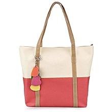 Women's Dual Purpose Bag - White & Red