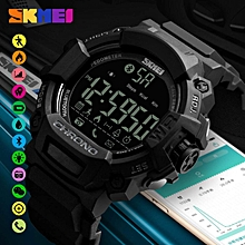 SKMEI Brand Fashion Smart Android iOS Men Pedometer Sports Digital Watches Remote Camera Call Reminder LED Hybrid Smartwatch 1249 By HonTai
