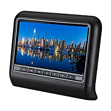 9 Inch HD LCD Car Head Rest Monitor Car Head Pillow Plug-in Type DVD Display -