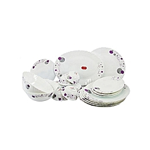 Dinner Set Plates - Pack of 38 pcs (Glass)