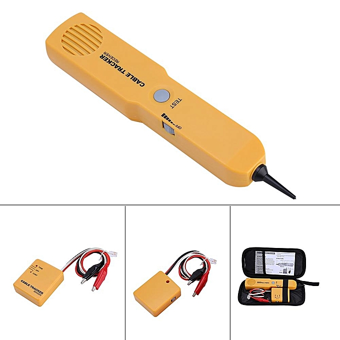 buy generic portable rj11 network cable tester toner wire tracker