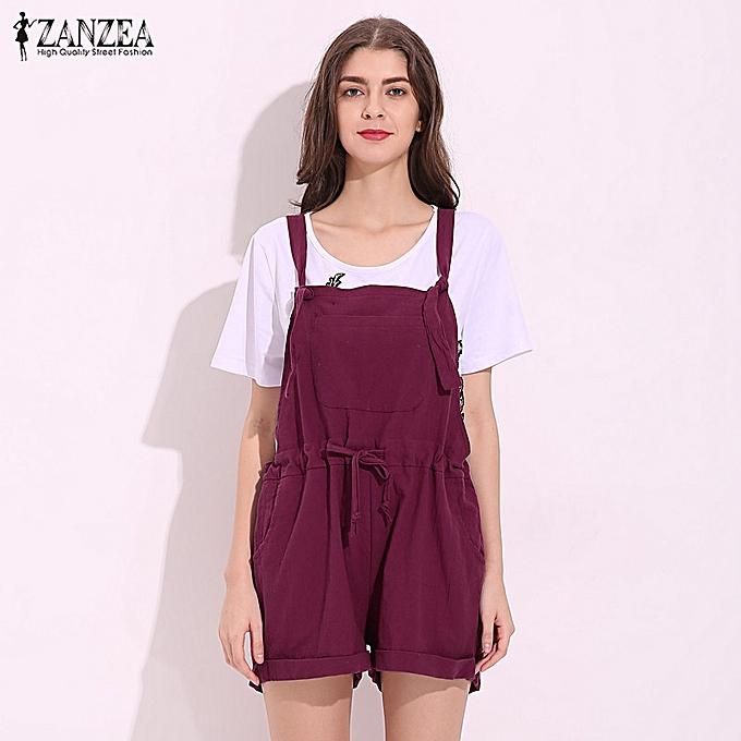 a62e40ecfb5 Fashion Women Sleeveless Strap Dungaree Oversized Playsuit Jumpsuit Romper  Shorts. By Fashion