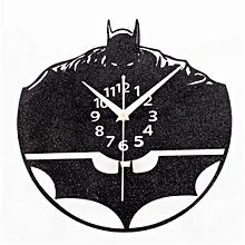Batman Quartz Wall Clock Home Decor -Black