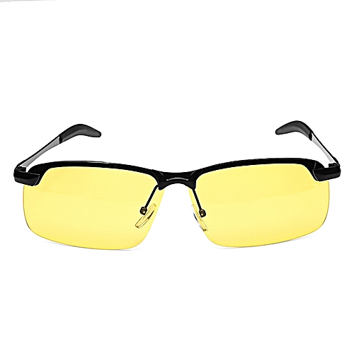 7630a661be Generic Suleve™ G02 Black Frame Night Driving Anti Glare Glasses Polarized  UV400 Sunglasses Rainy Driver Safety   Best Price