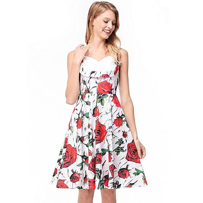 f9c1fc93ecc Generic Add-On Women s Tube Casual Dresses Top Dress Hepburn   Best ...