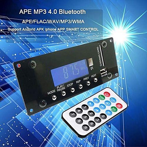 Wireless MP3 Decoding Board Bluetooth Audio Module USB SD Radio APE FLAC  WMA AUX