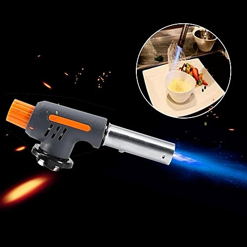 Camping Gas Torch Welding Fire Maker Lighter Butane Burner Flame Gun For BBQ