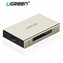 HDMI Switch 4K HDMI Hub 3 in 1 out HDMI Distribution with Zinc Alloy Case for All HDTVs, Blu-ray Players, Xbox 360,PS3, PS4, and Other HDMI Devices WWD