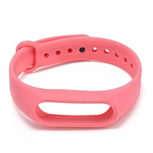 Wrist Band Replacement Bracelet For Xiaomi Band Pink