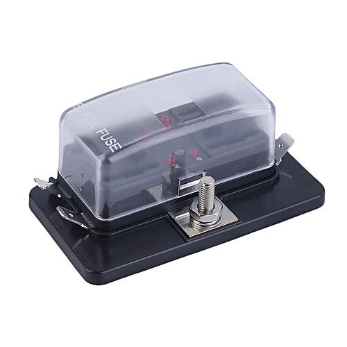 allwin 4 ways circuit automobile car automotive atc ato fuse box for allwin 4 ways circuit automobile car automotive atc ato fuse box for middle size black best price jumia