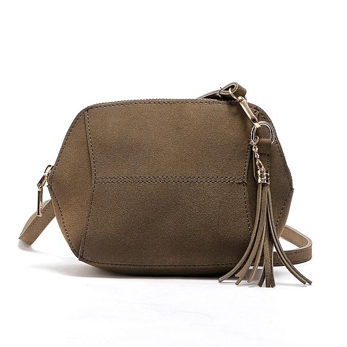 guoaivo Womens Leather Shoulder Bag Satchel Handbag Tote Hobo Crossbody Bags  Coffee 4d2dcd9eb8e07
