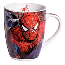 Red Ceramic Mug Branded Lighting Spider man