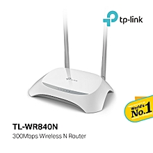 TL-WR840N 300Mbps Wireless N Router (Dual External Antenna)