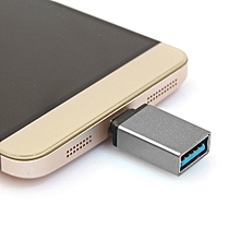 Aluminum Alloy USB-C / Type-C 3.1 Male to USB 3.0 Female Data / Charger Adapter forBook 12 inch, Chromebook Pixel 2015, Huawei 6P, LG 5X, Google 5X / 6P, Letv 1S / Le 1 Pro, Xiaomi 4C, Microsoft Lumia