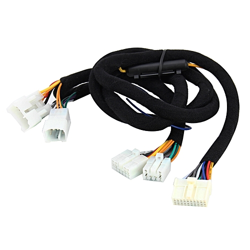 car stereo ampplified dsp audio extension cable wiring harness, cable  length: 1 5m,