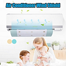 Air Conditioner Wind Shield Anti Direct Blowing Baffle Board Wind Gas Deflectors Blue