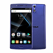 DOOGEE BL7000, 4GB+64GB, Dual Back Cameras, DTouch Fingerprint, 7060mAh Battery, 5.5 inch Android 7.0 MTK6750T Octa Core up to 1.5GHz, Network: 4G, OTG, OTA, Dual SIM(Blue)