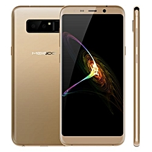 Note 8 4GB+64GB Dual Back Cameras Face & Fingerprint Identification 5.99 Inch Dual-side 3D Arc Glass Android 7.0 MTK6750T Octa Core1.5GHz 4G Smartphone(Gold)