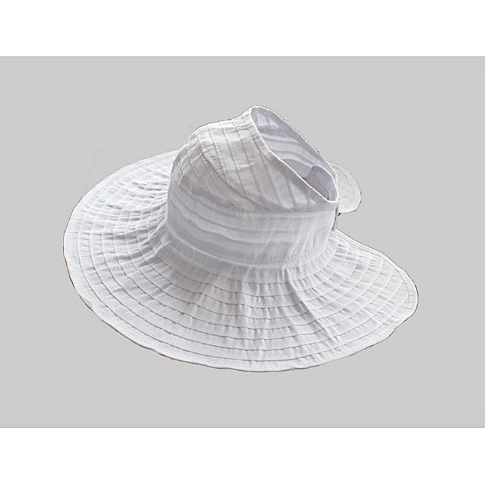 15f5323a Foldable Summer Visors Cap Beach Hats for Women Wide Large Brim Sun  Vacation Empty Top Big