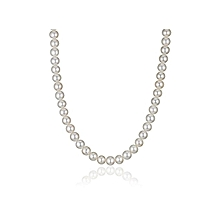 Oversized Pearl Necklace with big beads