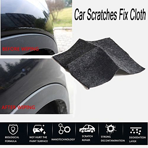 Car Scratch Repair Cloth Nano Surface Rags Light Paint Scratches Remover  Care