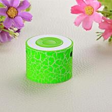 Speaker Portable Mini Stereo Bass Speakers Music Player MP3 TF Speaker GN-Green