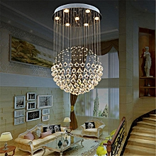 Modern Crystal Pendant Lamp Ceiling Light Fixture Lighting Chandelier Lights#Warm White