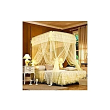 Mosquito Net With 2 Stands - 6X6 - Cream