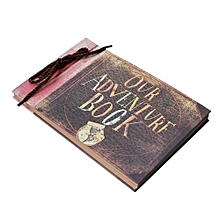 Our Adventure Book Scrapbook, Wedding Album, Unique DIY Scrapbook, 40 Pages